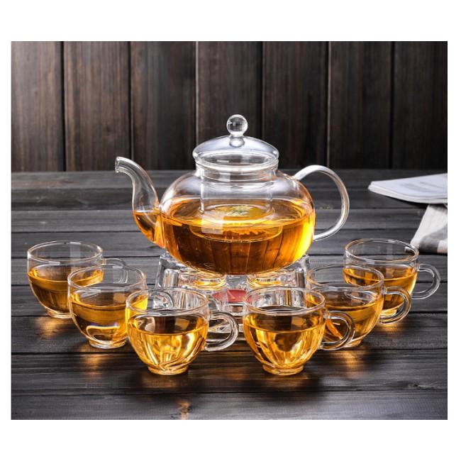 Bán sỉ và lẻ bộ bình trà thủy tinh cao cấp chịu nhiệt tại tphcm